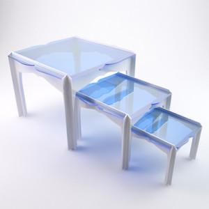 Оргстекло в интерьере - столики
