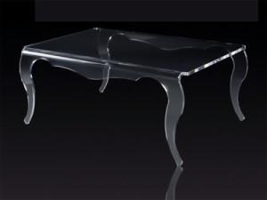 Стол из оргстекла - мебельный