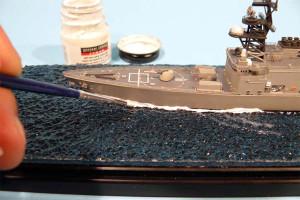 Модель корабля из оргстекла