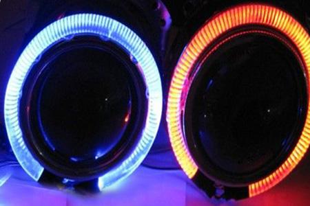 Светодиодные ангельские глазки из светодиодной ленты своими  146