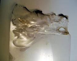 Плавление оргстекла в домашних условиях - неудачное плавление