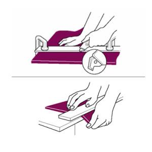Линейка резак для резки оргстекла