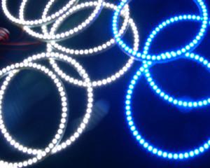 Кольца - ангельские глазки из оргстекла