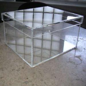 Прозрачная коробка из оргстекла