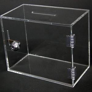 Ящик из оргстекла