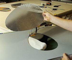 Оргстекло разрезанно фигурным методом