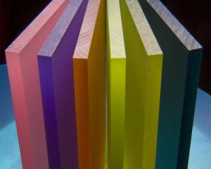 Люминесцентное оргстекло - из категории цветных